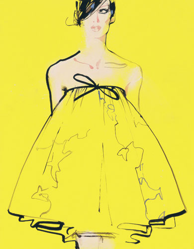 david-downton-illustrator-oscar-de-la-renta